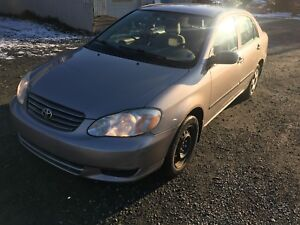 2003 Toyota Corolla for sell