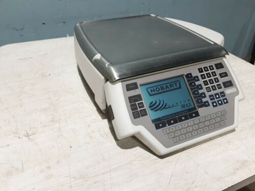 """""""HOBART QUANTUM """" HEAVYDUTY PROGRAMMABLE COMMERCIAL WEIGHT SCALE w/LABEL PRINTER"""