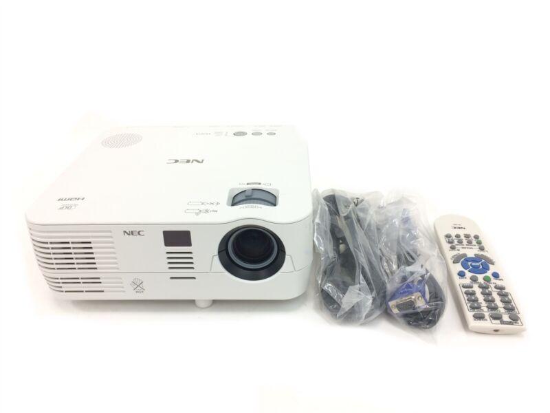 NEC NP-VE281X DLP Projector 2800 Lumens HDMI VGA - w/ Remote <418