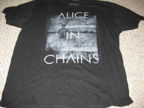 ALICE IN CHAINS  rock shirt    (black color)  (Large)
