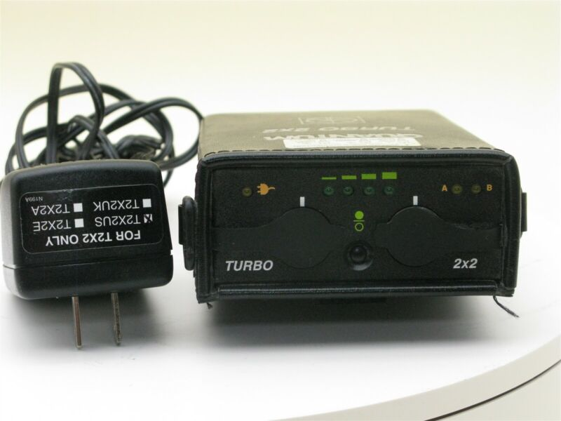 Quantum Turbo 2x2 Battery with T-75 AC Charger in Excellent Working Condition