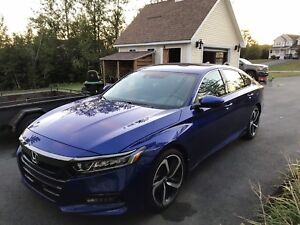 2018 Honda Accord Sport 3 Month old Lease Takeover