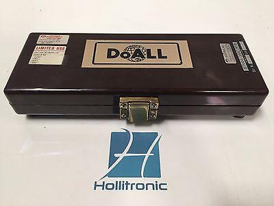 Doall 54-r Steel Gage Block Set - Missing Blocks