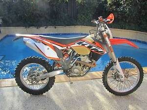 KTM 350 EXC-F 2014 Fuel injected. Manning South Perth Area Preview