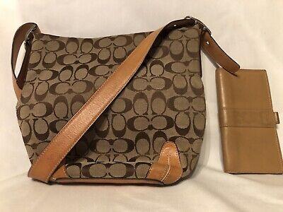 Authentic Coach Purse Cross Body Handbag