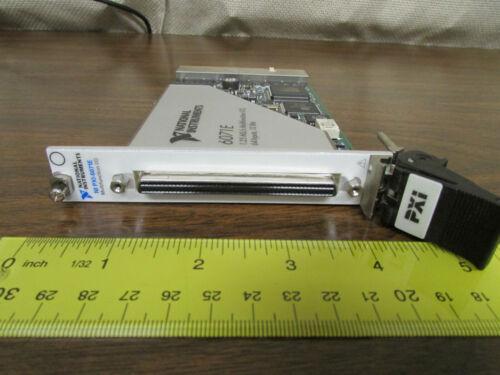 National Instruments NI PXI-6071E 1.25 MS/s Multifunction I/O 64 Input 12 Bit
