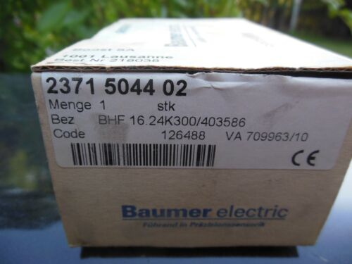 Baumer Electric BHF 16.24K300/403586  hollowshaft incremental encoder