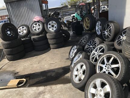 Second hand rims tyres and 4x4