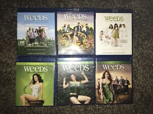 Weeds blue ray season 1 to 6 perfect condition