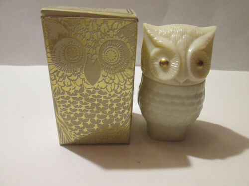 Vintage Avon Precious Owl Cream Sachet Moonwind with Box 1970