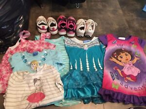Girls 2/3T mixed lot (46 items)