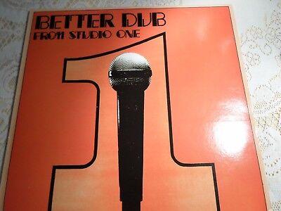 Dub Specialist - Better Dub fronm Studio One LP NM
