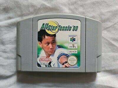 ALL STAR TENNIS '99 1999 Nintendo 64 N64 Game PAL VERSION Allstar