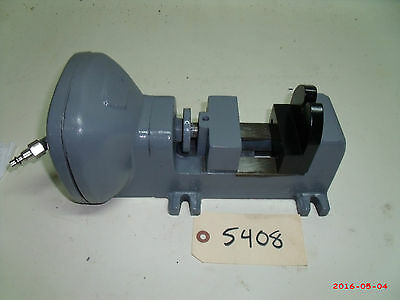 Air Powered Vise Jaws 3 Wide Max Open 3 Heinrich Used Mill Drill Tool