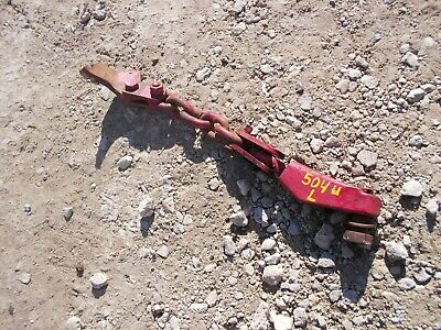 International 504 Utility Ih Tractor Left 3pt Hitch Bottom Lift Arm Sway Chain