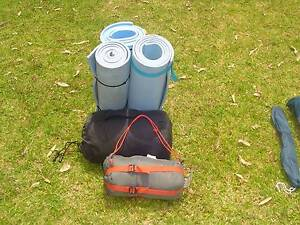 Sleeping bags ($30 & $20) and foam mats ($3) Berowra Heights Hornsby Area Preview