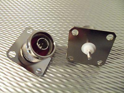 (1) Bird 43 QC Wattmeter Element Connector 4240-063 N-Male