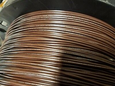 16 Gauge Wire Brown 100 Ft Primary Awg Stranded Copper Power Ground Mtw Vw-1