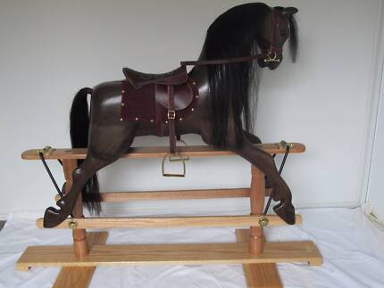 Timber Rocking Horse Thorneside Redland Area Preview