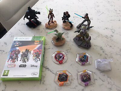 Disney Infinity 3.0 Star Wars Xbox 360 Game And Characters