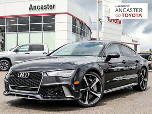 2017 Audi RS7 4.0T PERFORMANCE|RARE|FULLY LOADED