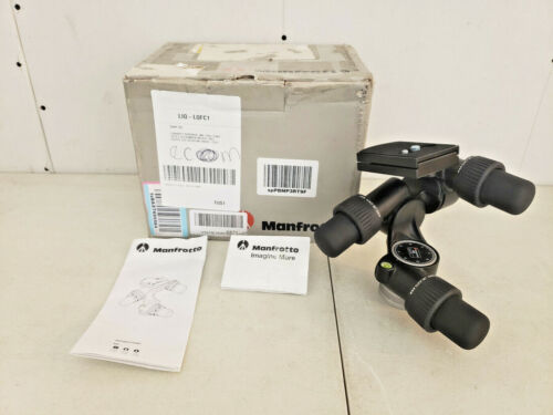 Manfrotto 405 Geared Tripod Head With Quick Release