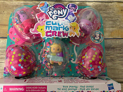 My Little Pony Cutie Mark Crew Series 3 You're Invited Tea Party 5 Pack NEW