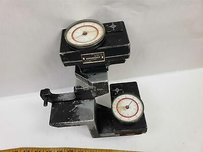 Pair Southwestern Ind Trav-a-dial 7a With Br-48 Bridgeport Mill Mount 0.001 Swi