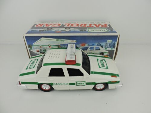 RARE VINTAGE 1993 HESS TOY TRUCK THE PATROL POLICE CAR IN ORIGINAL BOX