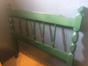 Moving Sale! Headboard and rails Twin