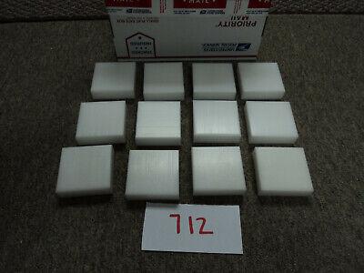 Plastic 12 Piece. White Delrin Acetal Sheet Cnc Mill 712