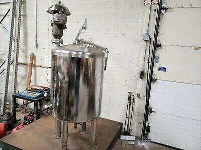 125-gallon Stainless Steel Pressure Tank Dome Top