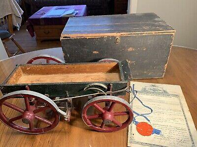 Antique US Patent Model 1912 Improvement in Wagon Brakes
