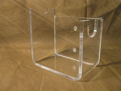 Acrylic Vintage Antique Western Lh Revolver Pistol Firearms Display Stand