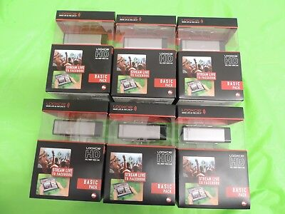 Lot 6 NEW Looxcie Basic Pack HD Full 1080P Camera Action Camcorder / No Battery