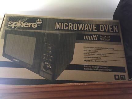 Sphere RV Microwave
