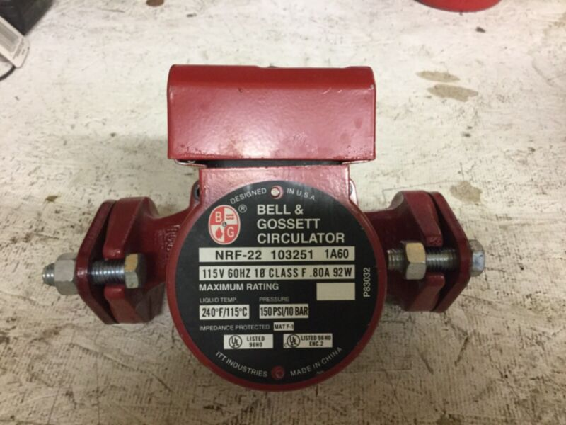 Bell & Gosset Circulator NRF-22