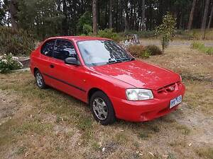 2002 Hyundai Accent Hatchback Gordon Moorabool Area Preview
