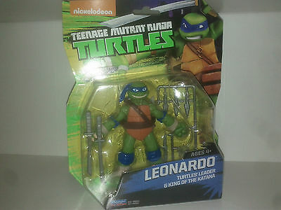 Teenage Mutant Ninja Turtle LEONARDO Turtles Leader & King of the Playmates Toys](Leonardo The Ninja Turtle)