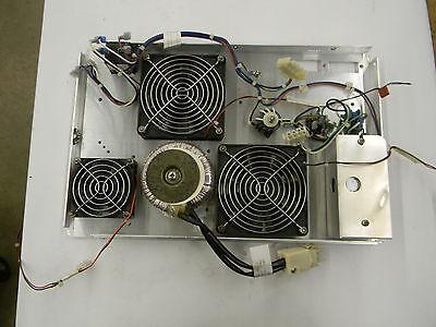 Varian Saturn 20002000r Rear Panel W Fans Transformer Etc. 1d4