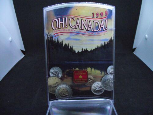 Canada 1998 Oh Canada Uncirculated Coin Set (7 Coin)