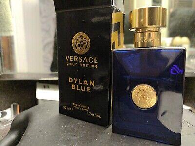 Original Versace Dylan Blue 1.7oz Men Eau De Toilette