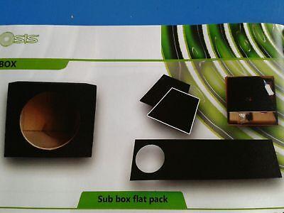 KIT PRE ASSEMBLATO BOX per Subwoofer 30 cm in cassa chiusa sub auto incassato