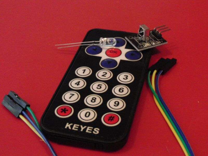 Infrared IR Wireless Remote Control Module Kits For Arduino - Free US Ship