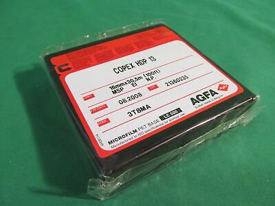 Nib Agfa Copex Hdp 13 Microfilm 16mmx305m 100ft Msp Spool May 2011
