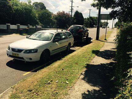 Hire car trailer $70/24hrs Bidwill Blacktown Area Preview