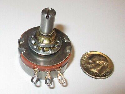 50 Ohm 2 Watt Panel Mount Potentiometer Ohmite Type Ab Nos Cmu5001