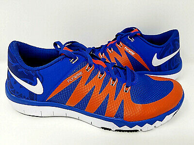 8fd67335214f Nike Free Trainer 5.0 V6 AMP Florida Gators PE Blue Orange 723939-481