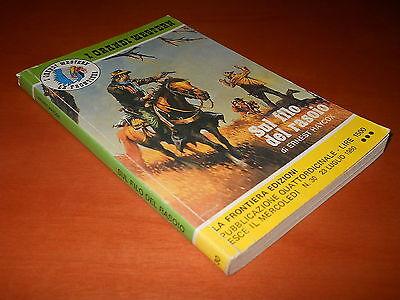 I grandi western 30 - Sul filo del rasoio di E. HAYCOX - La Frontiera edizioni