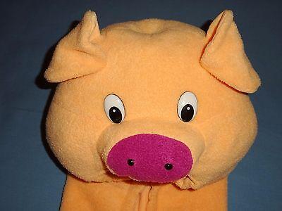 Baby Pig Costumes (PIG COSTUME CHILD;2-4;6-8;Plush Piglet-farm-Full body,Book Week;School plays)